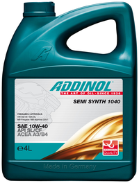 Addinol Semi Synt 104  10w 40  4л