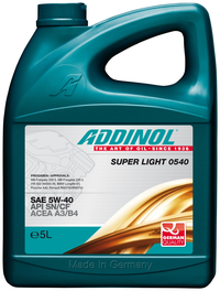 Addinol Super Light  5w 40  4л